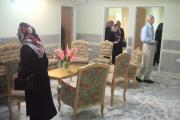 بازدید همکیشان از سرای سالمندان