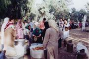 سیرگ وآش سنتی در جشن شوشتر