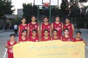 تیم بسکتبال جوانان از باشگاه فروهر یزد