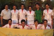 تیم فوتبال آرش از شهر یزد