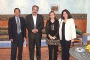 دیدار خانواده پارسی ساکن عمان با نیکنام