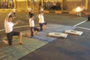 خردسالان مهد کودک پرورش باهنرنمایی در آغاز جام
