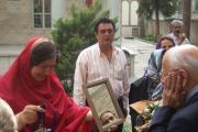 خوش آمدگویی به شیوه سنتی زرتشتی
