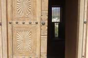دربهای چوبی قلعه شهر رستاق در مسقط