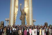 دعوت شدگان به جشن استقلال در میدان سامانی