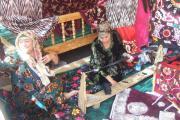دستگاه سنتی نوار دوزی لباس