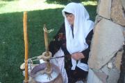 دوغ وکره به شیوه سنتی در تاجیکستان