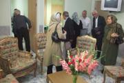 دیدار از بخش های گوناگون سرای سالمندان تهران