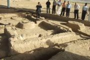 دیدار میهمانان از آثار باستانی سرزم در تاجیکستان