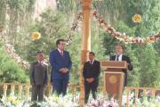 رییس جمهور تاجیکستان در جشن بزرگداشت رودکی شاعر پارسی گو و پدر شعر فارسی