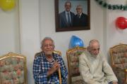 سالخوردگان در راحتی سرای سالمندان