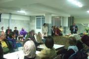 سخنرانی در شب چله با سالمندان