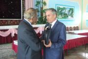 سپاسگزاری شهردار شهر از دهش آبتین ساسانفر