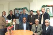 عکس یادگاری نماینده مجلس با هموندان نهادهای زرتشتی
