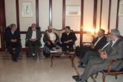 دیدار با سران دولت عمان در مسقط