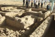 محل نگهداری آتش مقدس در بخش شرقی بناهای باستانی