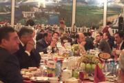 مهمانی شام با رییس جمهور تاجیکستان در جشن 1150 سالگی رودکی