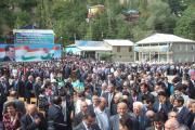 میهمانان در جشن رودکی