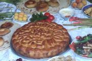 نان و سفره ناشتایی تاجییکی