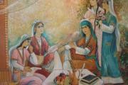 نقاشی های درون فرهنگسرای آریایی