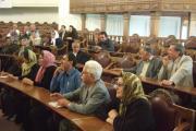 نماینده آشوری وکلیمی در جمع همکیشان در مجلس قدیمی