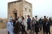 دیدار نمایندگان نهادها از نفش رستم شیراز