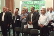 پاسداشت از سرایش سرودملی ایران در تالار شیراز