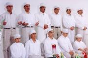 هیربدن در جشن سدره پوشی دبیرستان فیروزبهرام