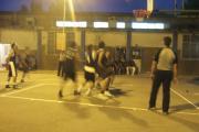 پیکارگران شهرستانی در بازی بسکتبال