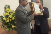 رییس اوقاف شیراز وقف نامه یی قدیمی را به انجمن باز گرداند