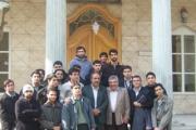 بیان بینش و فلسفه زرتشت در جمع دانشجویان دانشگاه ادیان ومذاهب اسلامی در آدریان تهران