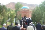 شرکت در آیین بزرگداشت هزارو یکصدو پنجاهمین سال رودکی ، شاعر پارسی گو در تاجیکستان