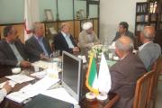 جلسه مشترک انجمن زرتشتیان تهران و جمعیت هلال احمر یزد برای تعیین تکلیف زایشگاه بهمن یزد
