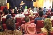 سخنرانی پیرامون فلسفه و آیین های زرتشت در همایش مجموعه فرهنگی هنری تهران