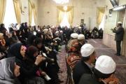 سخنرانی در جمع اساتید رشته تاریخ و ادبیات آموزشگاه های تهران