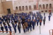 دیدار از دبستان دینیاری یزد ، آموزشگاهی در كنار گهنبار خانه زرتشتیان یزد