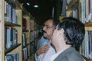 بازدید از کتابخامه دانشگاه