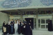 با دانشجویان ادیان در دانشگاه فردوسی مشهد