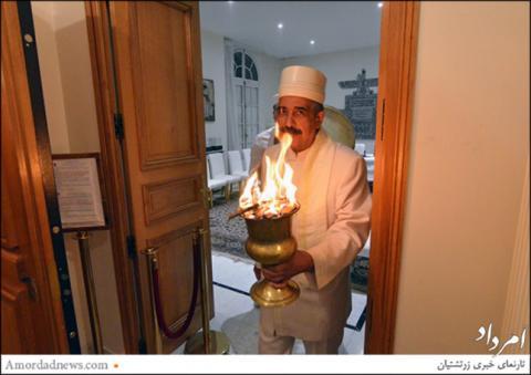 آتش سده در پاریس فروزان شد