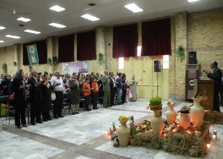 شرکت در جشن ششم فروردین زرتشتیان کرمان و سخنرانی پیرامون جایگاه پیام اشو زرتشت