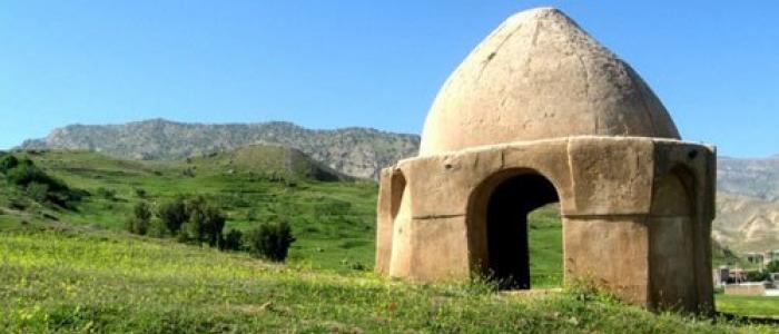 بنای باستانی آتشکده دره شهر در ایلام
