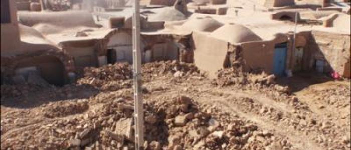 ویرانی۵ خانه دربافت تاریخی شهر اردکان یزد