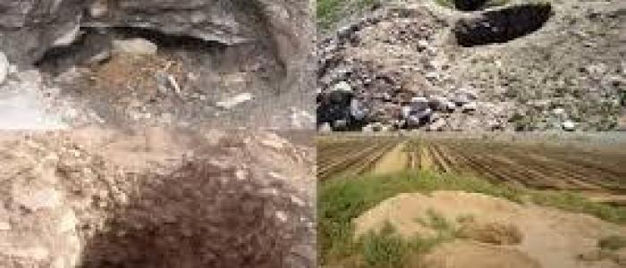 کندوکاوهای بی رویه در تپه های باستانی باختر ایران