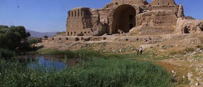 تهیه پرونده آتشکده کاریان پارس در فیروزآباد